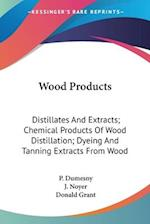 Wood Products af J. Noyer, P. Dumesny