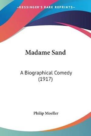 Bog, paperback Madame Sand af Philip Moeller