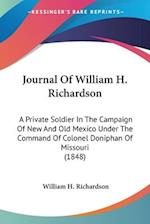 Journal of William H. Richardson af William H. Richardson