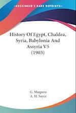 History of Egypt, Chaldea, Syria, Babylonia and Assyria V5 (1903) af G. Maspero, Gaston C. Maspero