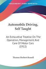 Automobile Driving, Self Taught af Thomas Herbert Russell