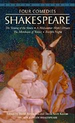 Four Comedies/The Taming of the Shrew/A Midsummer Night's Dream/The Merchant of Venice/Twelfth Night (Bantam Classics)