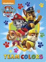 Paw Patrol Team Colors (Big Bright and Early Board Books)
