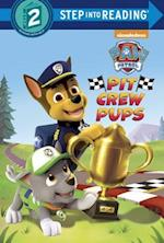 Pit-crew Pups (Step Into Reading. Step 2)