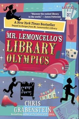 Bog, hardback Mr. Lemoncello's Library Olympics af Chris Grabenstein