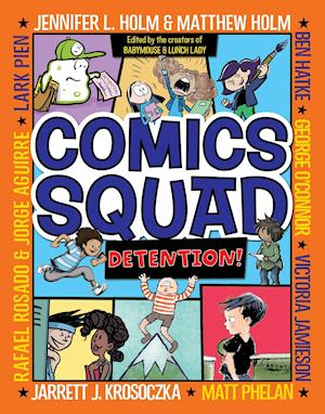 Bog, paperback Comics Squad #3 af Jennifer L. Holm