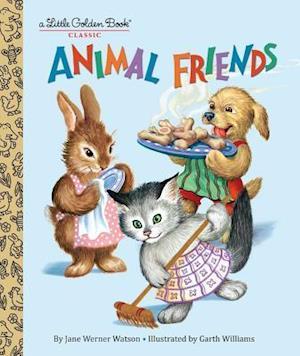 Bog, hardback Animal Friends af Jane Werner Watson
