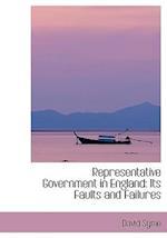 Representative Government in England af David Syme