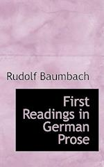 First Readings in German Prose af Rudolf Baumbach