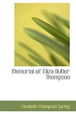 Memorial of Eliza Butler Thompson af Elizabeth Thompson Spring