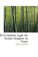 de La Condition Lacgale Des Sociactacs a Trangacres En France af Charles Lyon-Caen