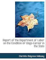 Report of the Department of Labor on the Condition of Wage-Earner in the State af Charlotte Molyneux Holloway