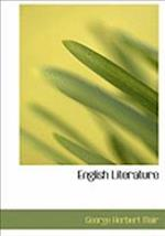 English Literature af George Herbert Mair