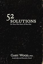 52 Solutions for Those Who Need a 25 Hour Day af Gary Wood