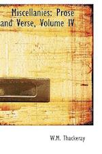 Miscellanies af W. M. Thackeray