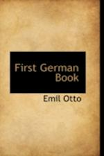 First German Book af Emil Otto