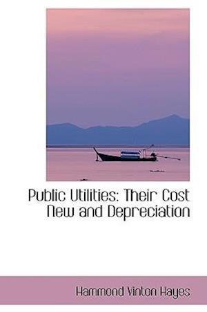 Bog, hæftet Public Utilities: Their Cost New and Depreciation af Hammond Vinton Hayes