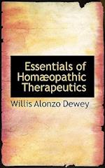 Essentials of Homaopathic Therapeutics