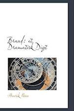 Brand: et Dramatisk Digt af Henrik Ibsen