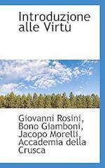 Introduzione Alle Virt af Giovanni Rosini