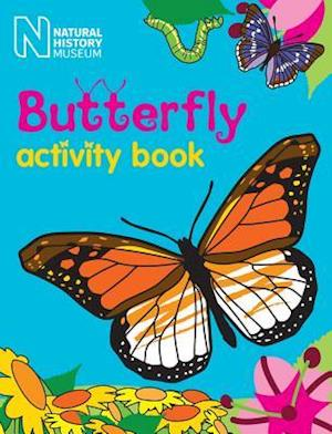 Bog, paperback Butterfly Activity Book af Natural History Museum London