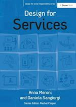 Design for Services (Design for Social Responsibility)