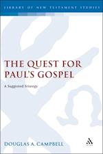 Quest for Paul's Gospel af Douglas Campbell