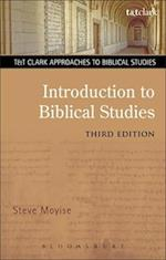 Introduction to Biblical Studies (T&T Clark Approaches to Biblical Studies)