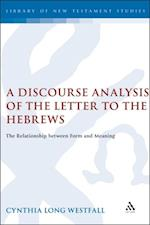 Discourse Analysis of the Letter to the Hebrews
