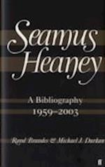 Seamus Heaney: a Bibliography (1959-2003)