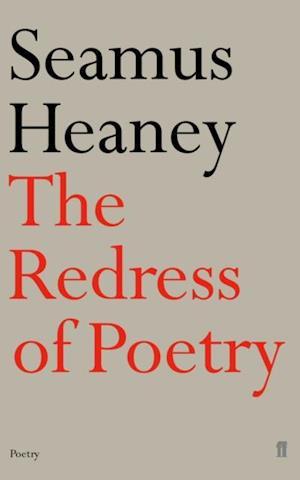 Redress of Poetry af Seamus Heaney