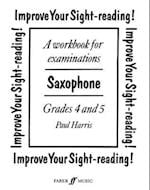 Improve Your Sight-Reading! Saxophone, Grades 4-5 af Paul Harris
