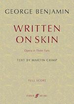 Written on Skin (Faber Edition)