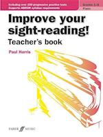 Improve Your Sight-Reading! Piano (Teacher's Book) (Faber Edition Improve Your Sight Reading)