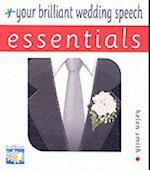 Your Brilliant Wedding Speech (Essentials Foulsham)