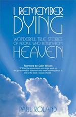 I Remember Dying af Paul Roland