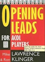 Opening Leads for ACOL Players af Mike Lawrence, Michael Lawrence, Ron Klinger