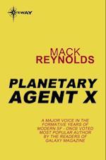 Planetary Agent X af Mack Reynolds