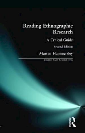 Bog paperback Reading Ethnographic Research af Martyn Hammersley