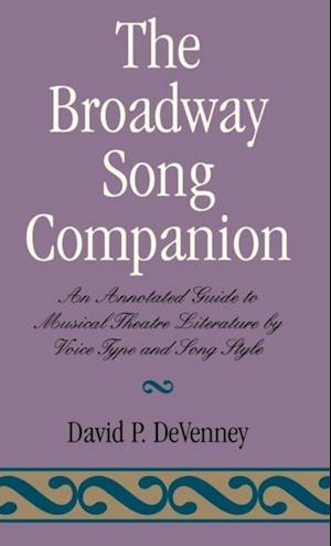 Broadway Song Companion af David P. DeVenney