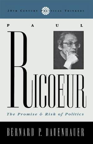 Paul Ricoeur af Bernard P. Dauenhauer