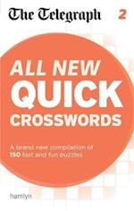 The Telegraph: All New Quick Crosswords 2 (The Telegraph Puzzle Books)