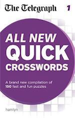 The Telegraph: All New Quick Crosswords 1 (The Telegraph Puzzle Books)