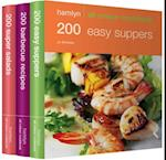 600 Easy Suppers, Salads & BBQ Recipes (Hamlyn All Colour Cookbook)