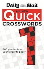 Daily Mail: All New Quick Crosswords 1 (The Mail Puzzle Books, nr. 69)