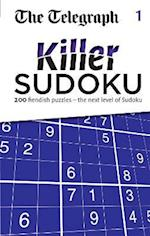 The Telegraph Killer Sudoku 1 (The Telegraph Puzzle Books, nr. 1)
