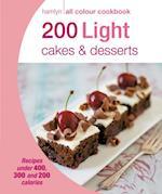 200 Light Cakes & Desserts (Hamlyn All Colour Cookbook)