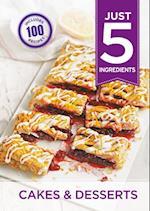 Just 5: Cakes & Desserts (Just 5)