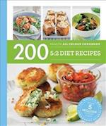 Hamlyn All Colour Cookery: 200 5:2 Diet Recipes af Angela Dowden