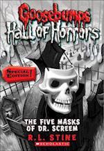 The Five Masks of Dr. Screem af R. L. Stine